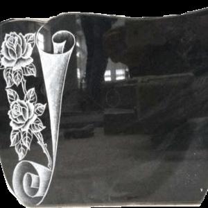 template-Käärölaatta ruusulla